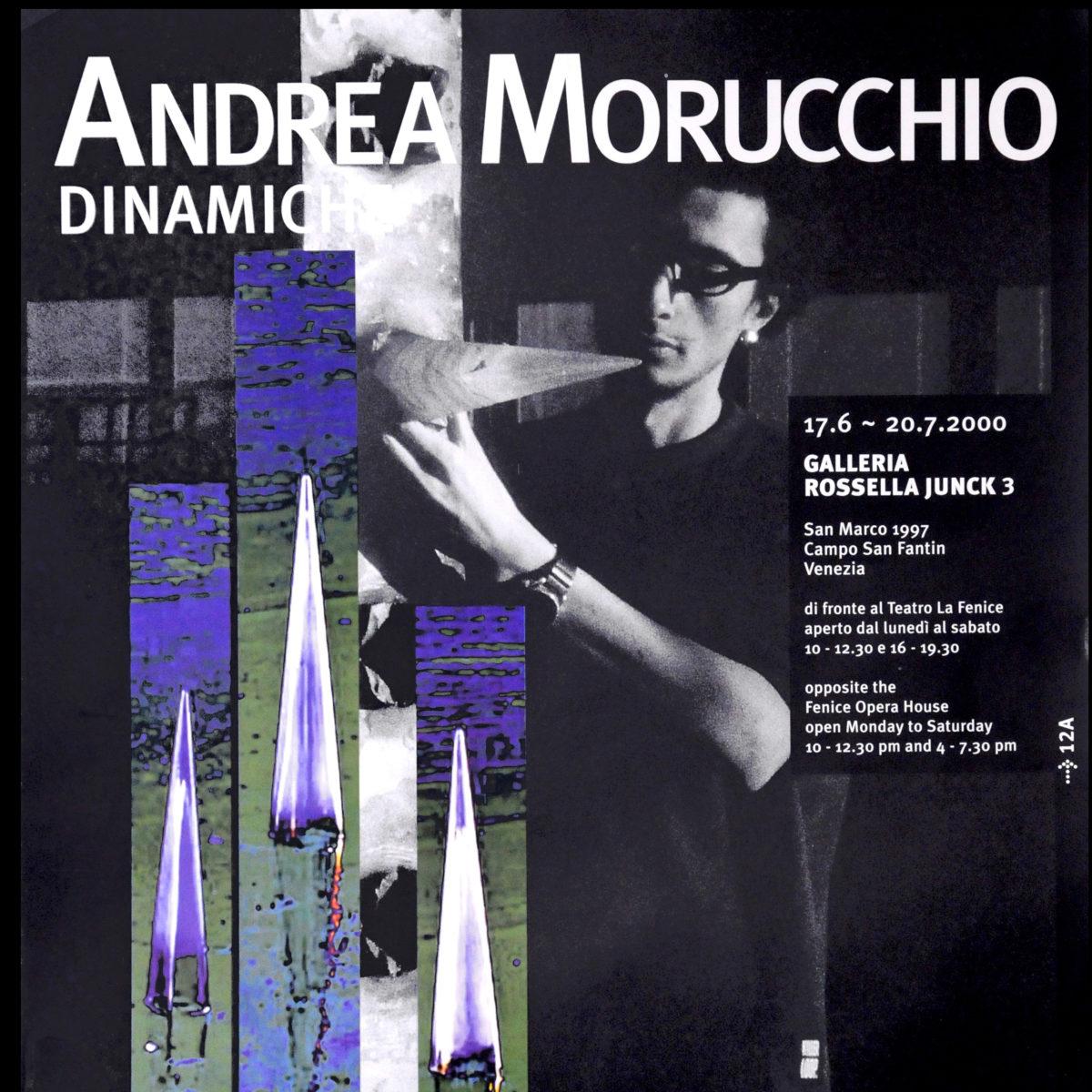 """""""Dinamiche"""", testo critico di Andrea Pagnes, 2000, ita"""