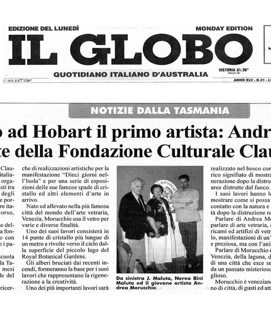 Il Globo | 3.02.2003