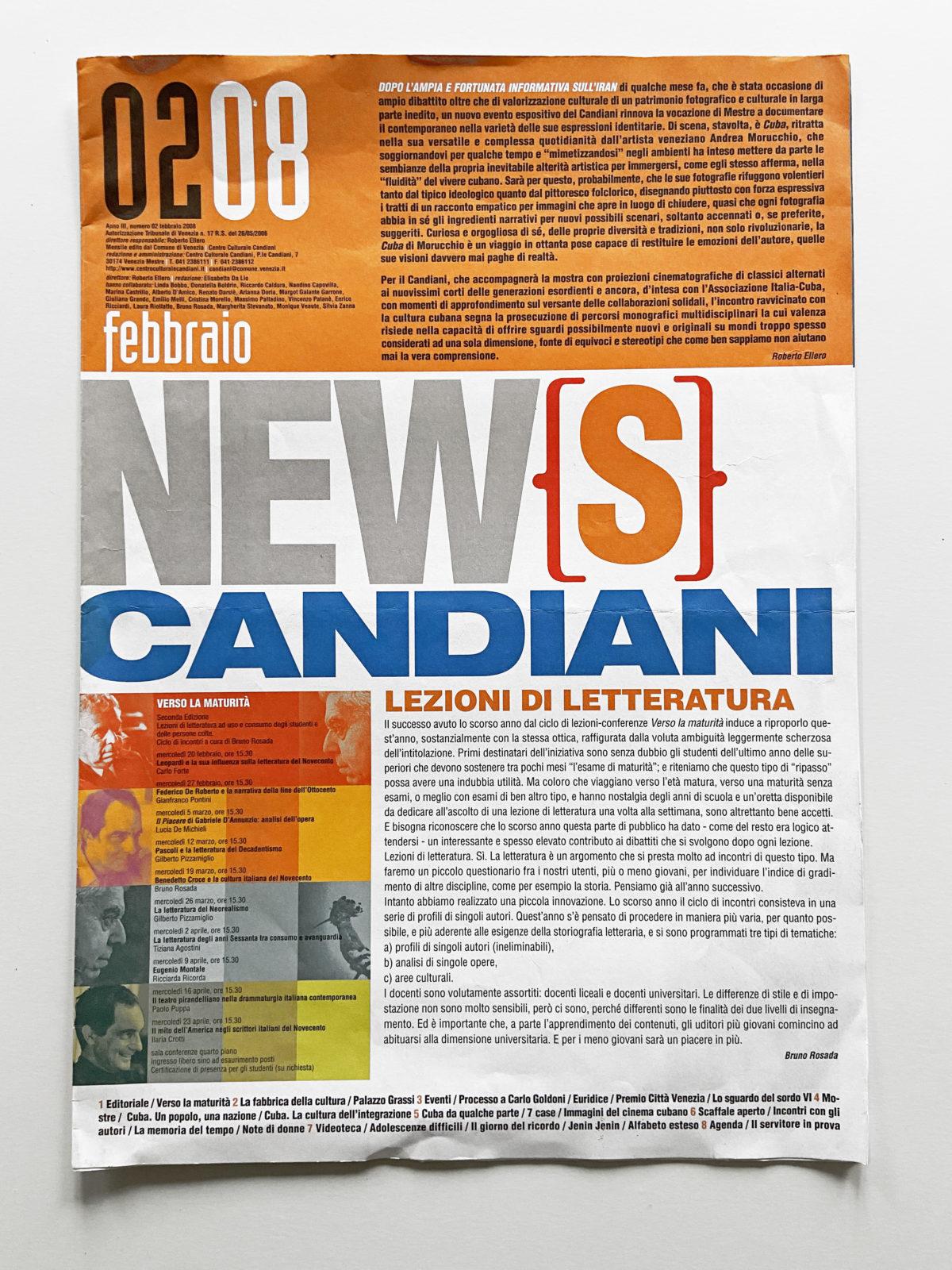Candiani news | 2008