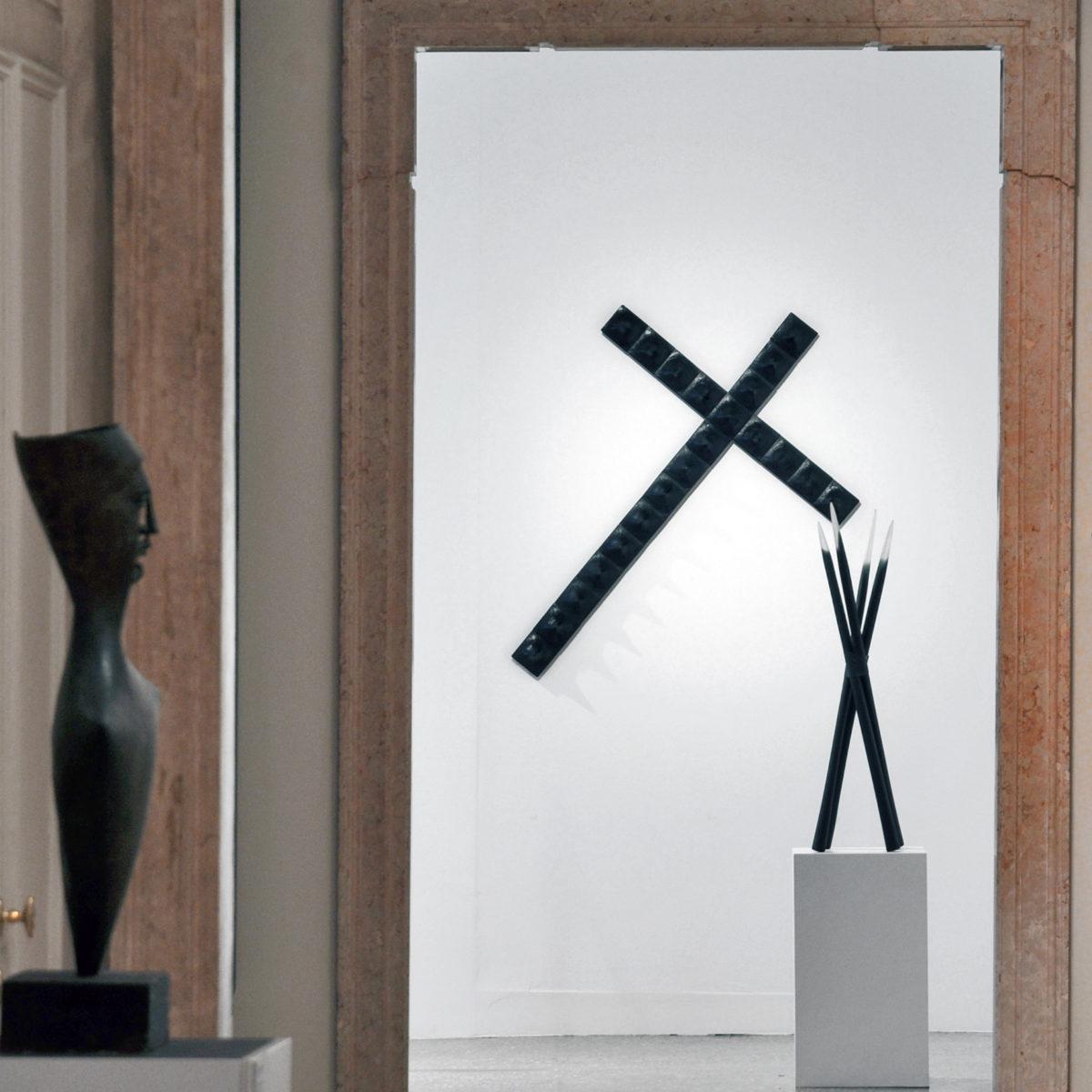 """""""L'Oeuvre au Noir"""", testo critico di Stefania Portinari, 2011, ita"""