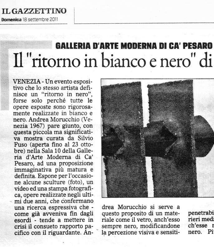 Il Gazzettino | 18.09.2011