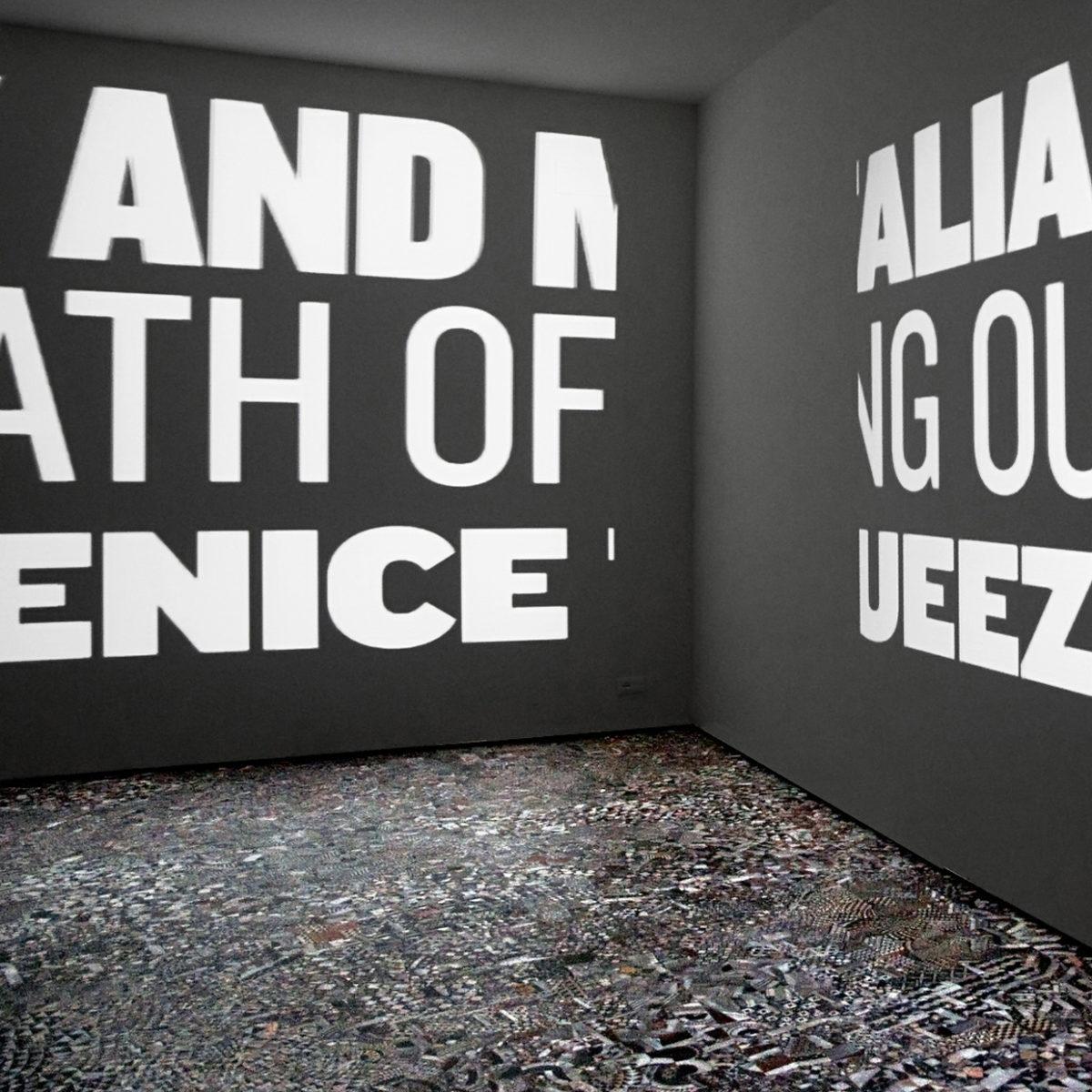 """""""The Rape of Venice, ovvero della Costruzione di un Contesto"""", testo critico di Vittorio Urbani, 2015, ita"""
