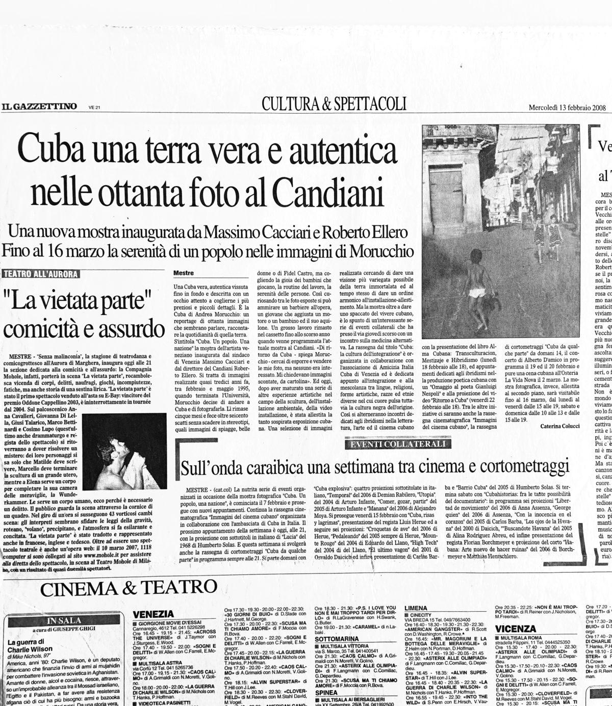 Il Gazzettino | 13.02.2008