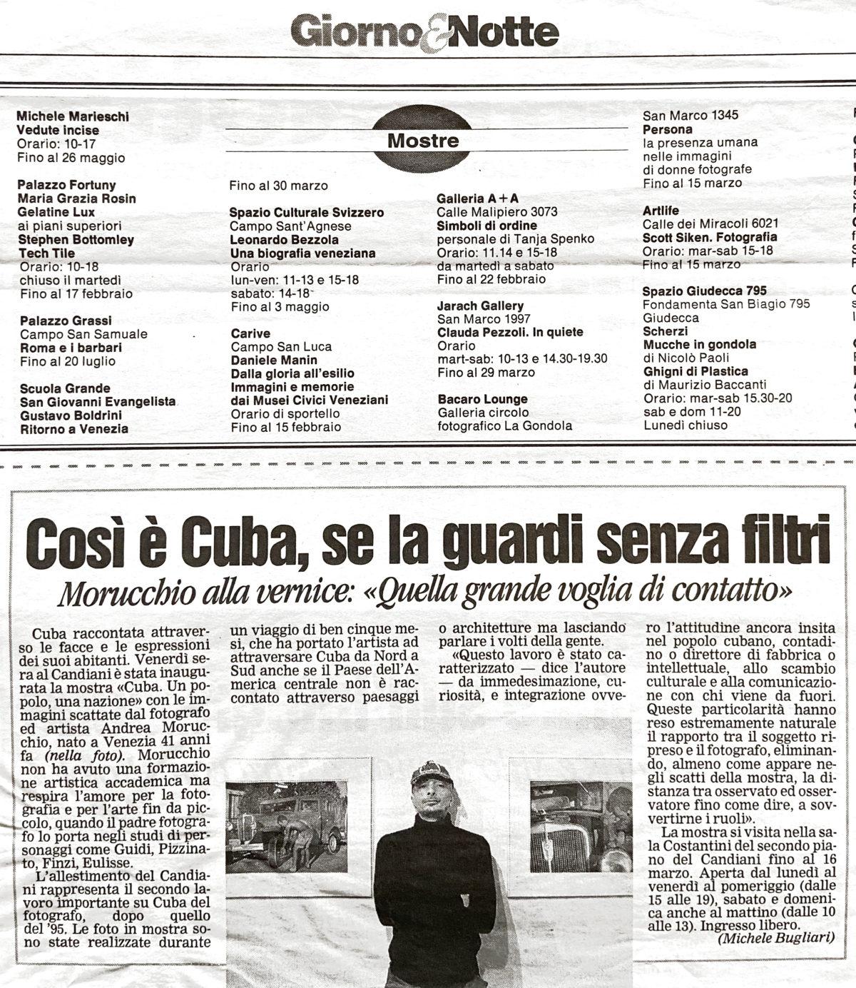 La Nuova Ve  | 10.02.2008