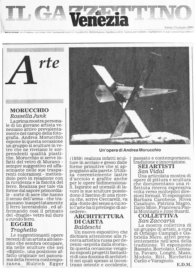 Il Gazzettino | 24.06.2000