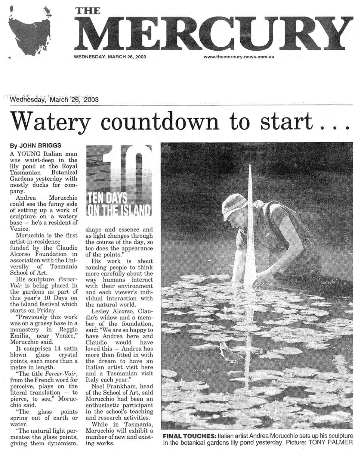 The Mercury | 26.03.2003
