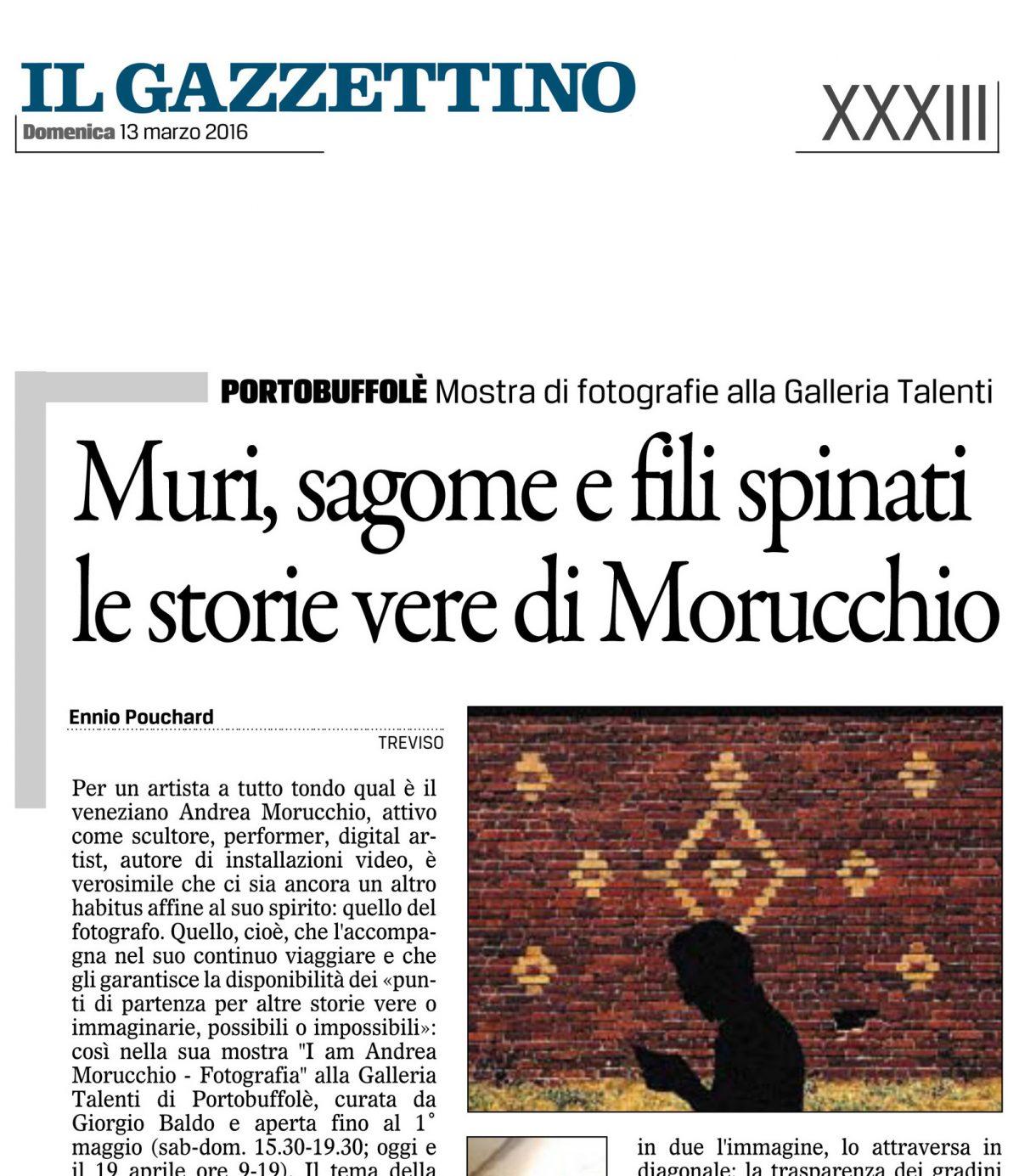 Il Gazzettino | 13.03.2016